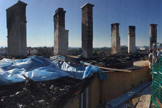 Wiederaufbau Brand in der Meistersingerstraße